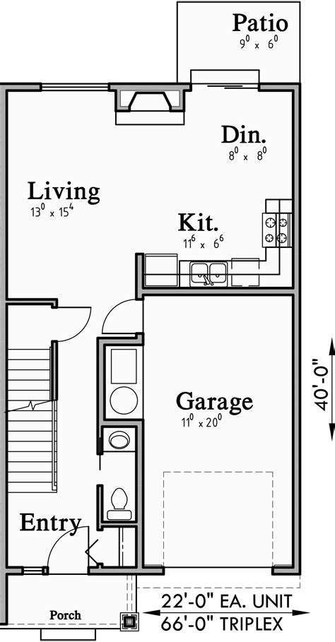 Row house plans in 500 sq ft apartmentsdesign bedroomdesign row house layout cadbull row house floor plans philippines brewn design ideas from row house design with floor plan see description you. Triplex Plans With Basement, Row House Plans, Open Floor Plan