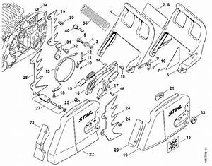Stihl Chainsaw 026 Parts Diagram