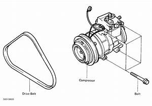 1990 Toyota Corolla Serpentine Belt Routing And Timing Belt Diagrams