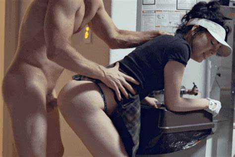 Hidden Cam Lady Asshole Getting Kitchen With Male