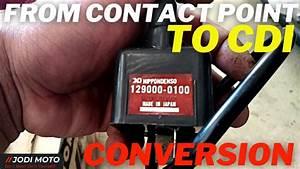 How To Convert Honda Tmx 155 Contact Point Into Cdi