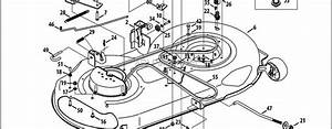 Craftsman Lt2000 Mower Deck Parts Diagram