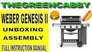 Weber Genesis E 330 Instruction Manual