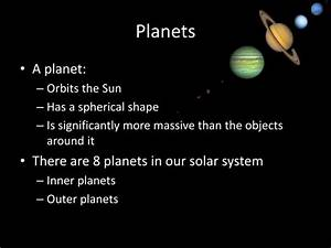 PPT - The Solar System PowerPoint Presentation - ID:2658456