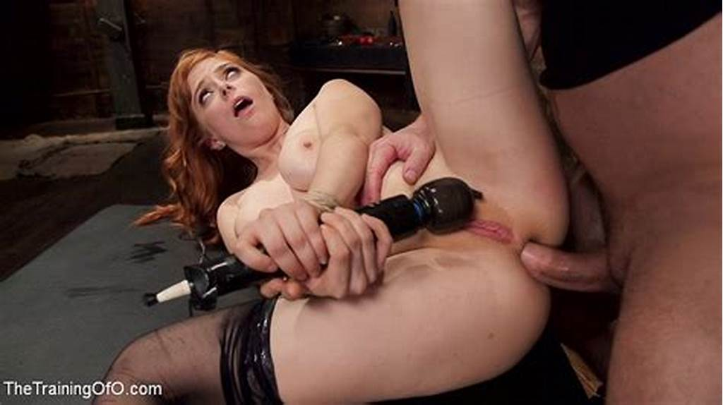 #Penny #Pax #Bound #Redhead #Anal #Submissive #Is #Fucked #By