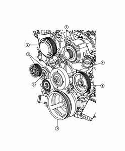 Jeep Commander Tensioner  Belt   Engine