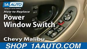 How To Replace Power Window Switch 97