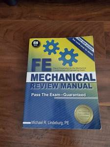 Fe Mechanical Review Manual By Michael R  Lindeburg  2014