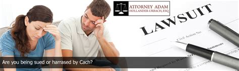 When you're being sued for debt, it's generally because if the suit is dropped and the debt discharged, you can dispute the information on your credit report. Are You Being Sued by Cach?