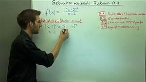 Asymptote Berechnen Gebrochen Rationale Funktion : kurvendiskussion einer gebrochenrationalen funktion ~ Themetempest.com Abrechnung