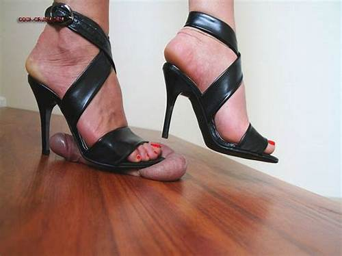 Heel French High Heels Crush Trample #Ar