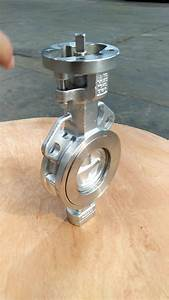 Wafer Double Eccentricity Stainless Steel Butterfly Valve