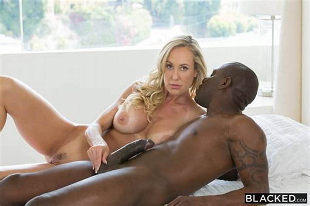 #Hot #Blonde #Wife #Takes #A #Huge #Black #Cock