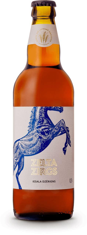 Zelta Zirgs Malt Drink - Valmiermuižas alus