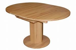 Tisch rund buche massiv haus planen for Tisch rund buche massiv