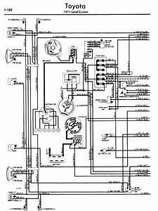 Toyota Land Cruiser 1971 Wiring Diagrams