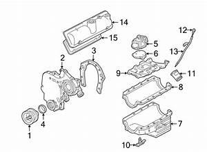 Chevrolet Malibu Engine Valve Cover  Left  Models  Liter