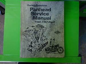 Zombie Performance  Old Panhead Service Manual For Sale