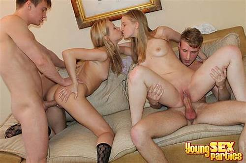 Spunky Chicks Pounding Swinger Guys #Young #Sex #Parties
