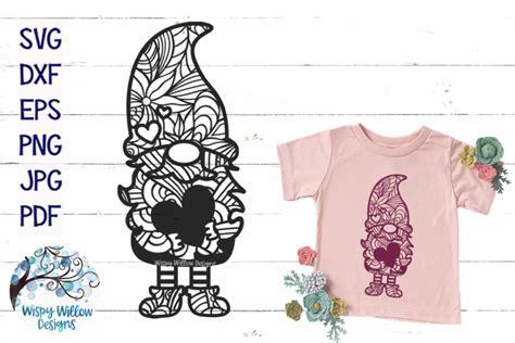Free 3d layered mandala cut file for cricut and silhouette. Gnome Zentangle SVG   Gnome Mandala SVG   Gnome Heart SVG ...