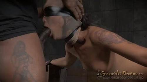 Blindfolded Stepbrother Fucking From Behind