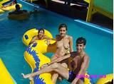 Topless teen water park stories