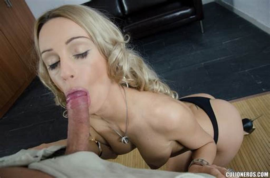 #Gorgeous #Blonde #Sucks #Cock #And #Swallows #Cum