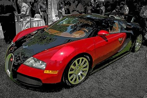 """Made in atc tuning studio. """"Bugatti Veyron"""" Posters by TeaCee   Redbubble"""