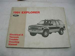 1991 Ford Explorer Electrical Vacuum Troubleshooting