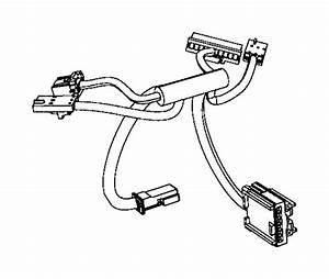 Dodge Durango Steering Wheel Wiring Harness  2014