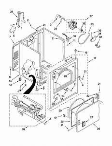 Whirlpool Wgd5100vq1 Dryer Parts
