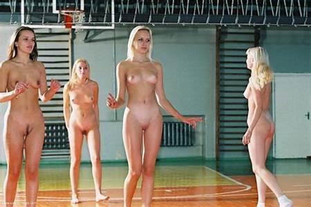 Nude Teenage Volleyball