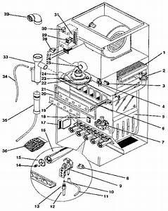 Intertherm Eletric Furnace Parts Diagram