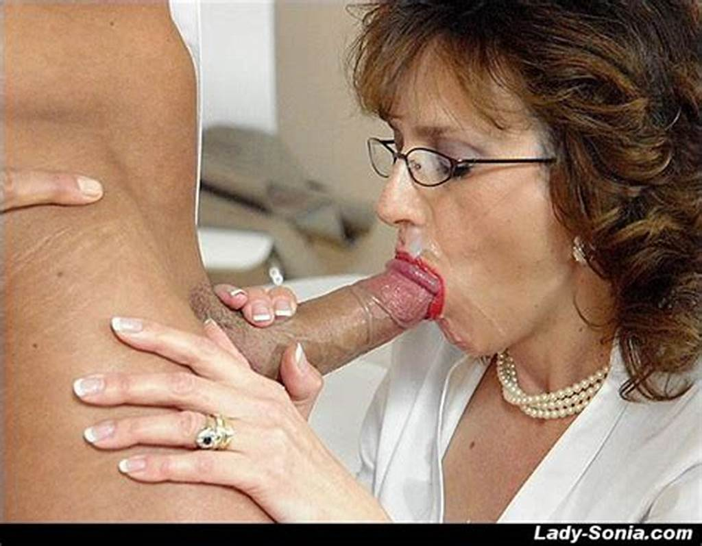 #Horny #Mature #Lady #Gives #A #Blowjob #And #Gets #A #Cumshot #In