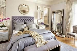 Grand Miroir Chambre : le lit baroque en 40 photos romantiques ~ Teatrodelosmanantiales.com Idées de Décoration