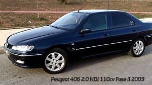 Peugeot 406 2 0 Hdi Sr Pack 110cv Fase Ii 2003 Wmv