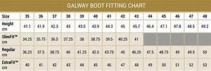Ladies Footwear Size Chart Dubarry Boots Size Guide