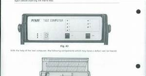 Pfaff Creative Designer Service Manual  Model  1473