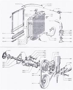 92  107e Radiator  U0026 Water Pump
