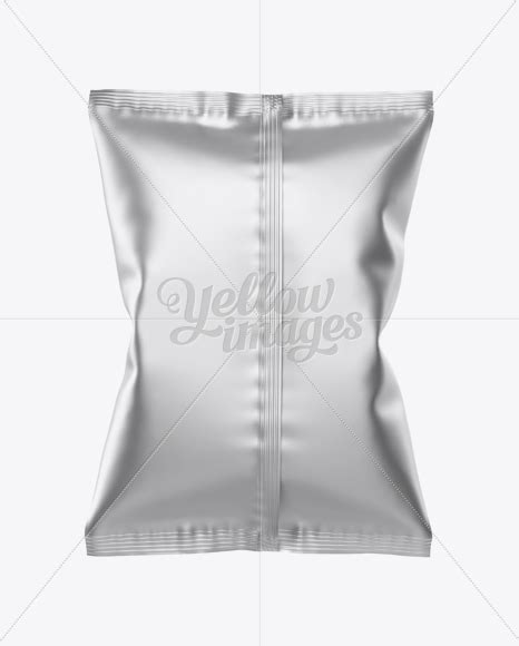 My team and i specialize in creating quality packaging mockups. Matte Metallic Snack Package Mockup - Back View in Flow ...
