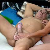 Cock gay man old sucking