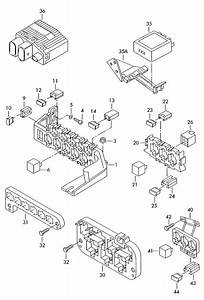 Audi A4 Relay For  Engine Control Electronic Control