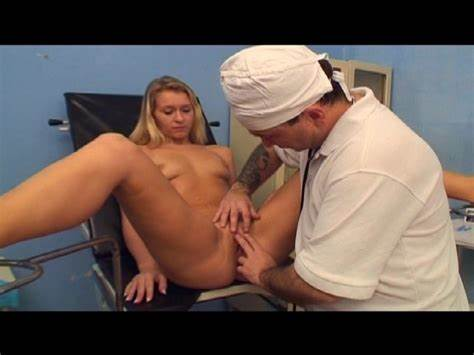 Brunette Doctor Pee And Twat Kiss Part1of2 Lifter Helps With Hymen Facial