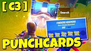 Fortnite Punch Card Quick Guide -   C3