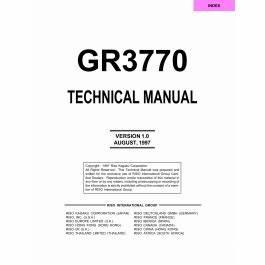 Riso cr1610 manual.