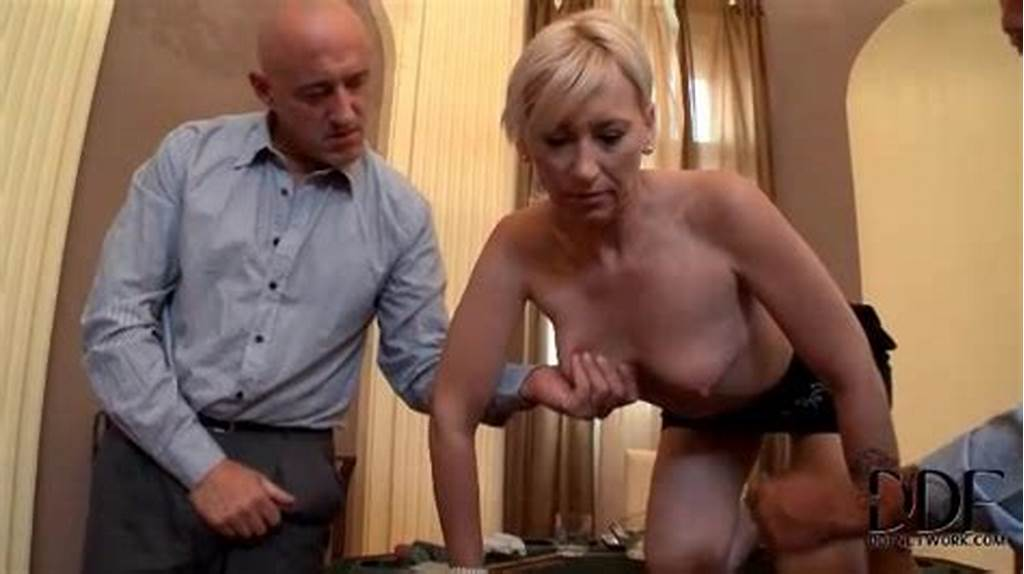 #Guys #Pinch #Her #Nipples #As #She #Sucks #Dick