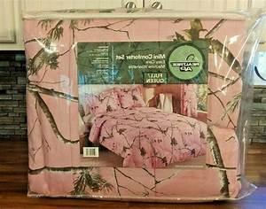 New, Realtree, Ap, Pink, Camo, Bedding, Comforter, Set