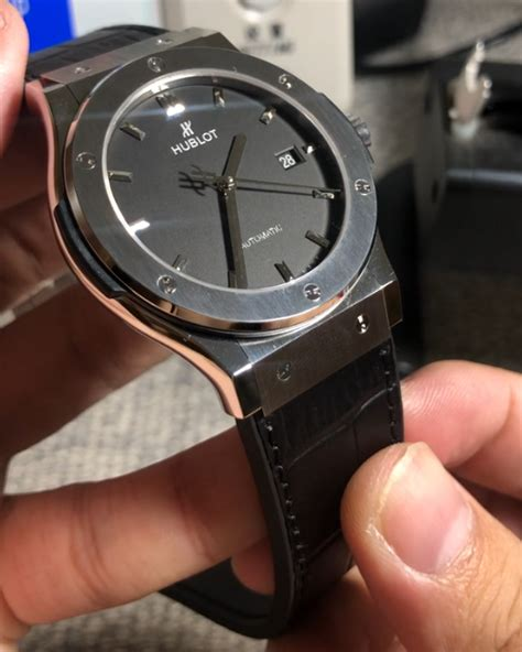 Maybe you would like to learn more about one of these? Hublot - Classic Fusion - Black Dial - |Replica Watches | Relojes Réplicas|