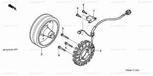 Honda Atv 2003 Oem Parts Diagram For Alternator
