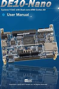 De10 Nano User Manual